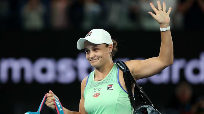 Ashleigh Barty is seeking her first Australian Open title.