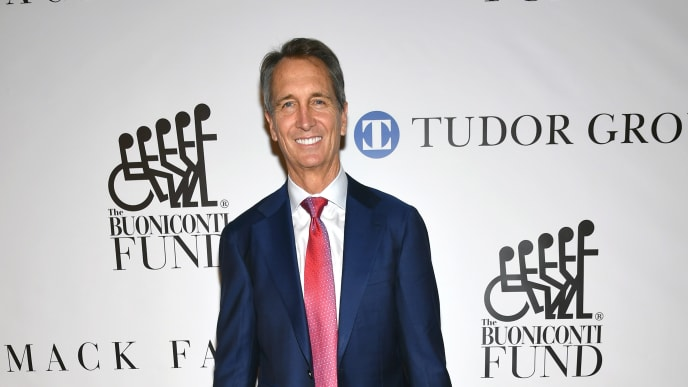 NEW YORK, NEW YORK - OCTOBER 07: Cris Collinsworth attends the 34th Annual Great Sports Legends Dinner To Benefit The Buoniconti Fund To Cure Paralysis at The Hilton Midtown on October 07, 2019 in New York City. (Photo by Mike Coppola/Getty Images for The Buoniconti Fund To Cure Paralysis)