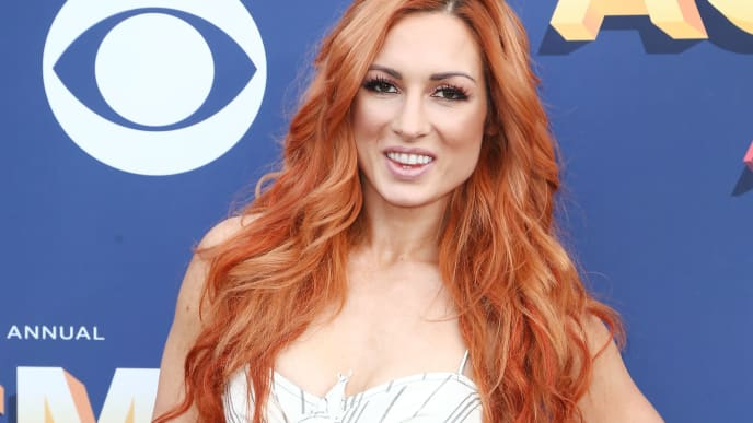 LAS VEGAS, NV - APRIL 15:  Becky Lynch attends the 53rd Academy of Country Music Awards at MGM Grand Garden Arena on April 15, 2018 in Las Vegas, Nevada  (Photo by Tommaso Boddi/Getty Images)