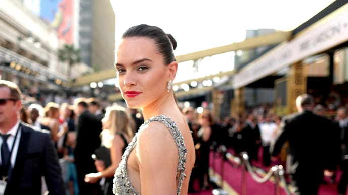 HOLLYWOOD, CA - FEBRUARY 28:  Actress Daisy Ridley attends the 88th Annual Academy Awards at Hollywood & Highland Center on February 28, 2016 in Hollywood, California.  (Photo by Christopher Polk/Getty Images)