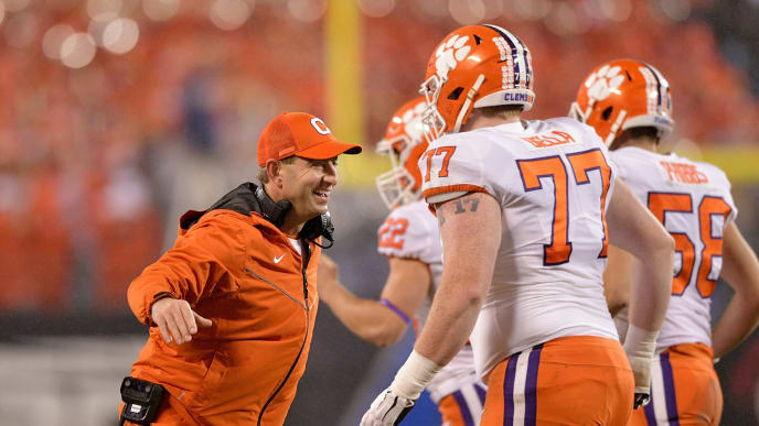 buy popular 188fc 566de Suspended Clemson Players From College Football Playoff ...