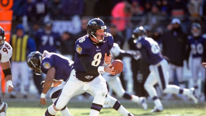 Trent Dilfer led Baltimore to its first Super Bowl win.