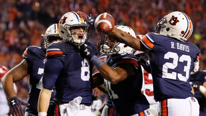 Auburn Tigers rejoice following Iron Bowl victory