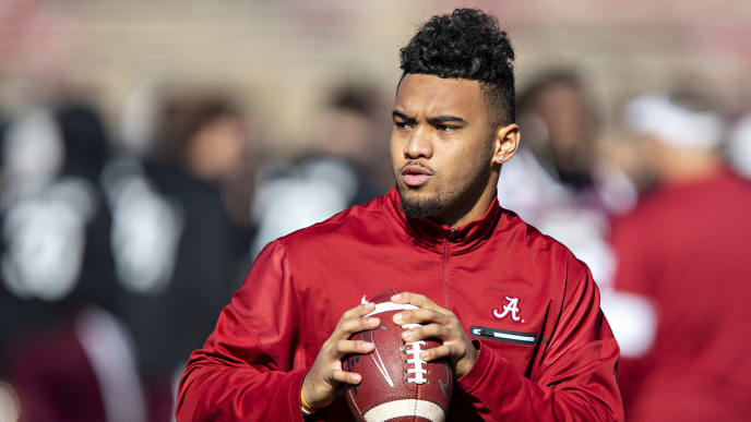 Alabama QB Tua Tagovailoa is still weighing his options for 2020 and has not committed to the NFL