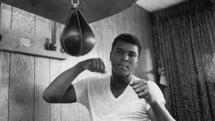 Muhammad Ali became lineal heavyweight champion three different times, a feat no one has matched.