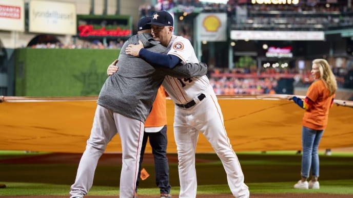 Aj Hinch Alex Cora And Carlos Beltran Connected To Astros