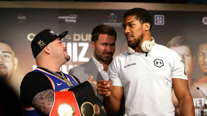"Anthony Joshua and Andy Ruiz Jr. will meet in ""The Clash on the Dunes"" for the heavyweight title"