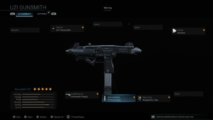Finding the best Uzi class setup in Modern Warfare is all about adaptability.