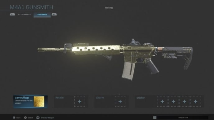 How to get gold in Modern Warfare is about earning the gold camo skins for certain weapons.