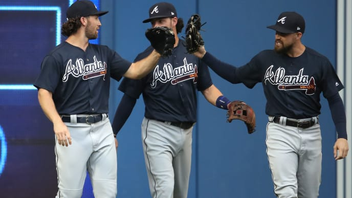 Charlie Culberson, Dansby Swanson, Ender Inciarte