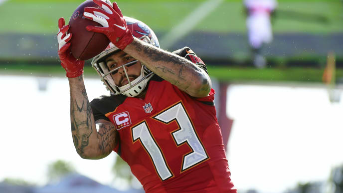 quality design 26425 53317 Mike Evans Fantasy Outlook for Week 1 Unchanged by Friday ...