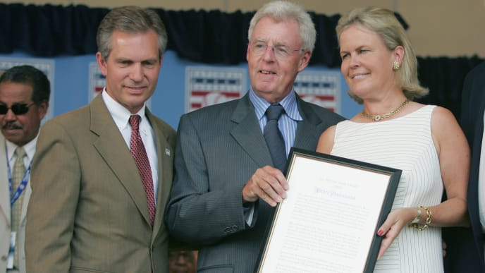 Peter Gammons, Jane Forbes Clark, Dale Petroskey