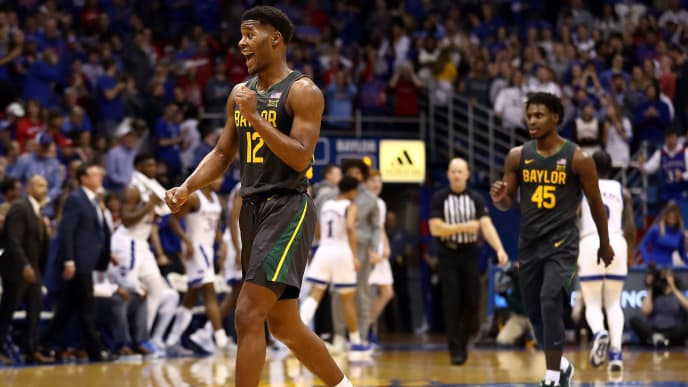 Baylor takes No. 1 in the NCAA after outlasting No. 3 Kansas a week ago.