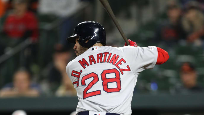 promo code 5dfa9 597ca Here's Why JD Martinez Has His Full Name on Back of Red Sox ...
