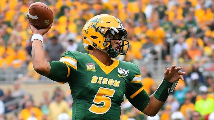 NDSU freshman QB Trey Lance has passed for 28 touchdowns and zero interceptions this season.