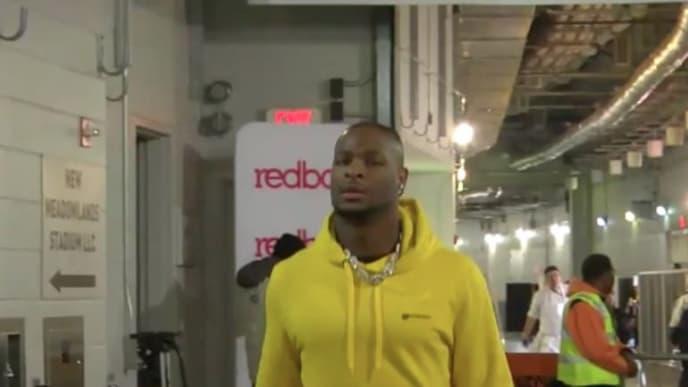 Le'Veon Bell visitó los colores de los Steelers antes de enfrentarlos el domingo