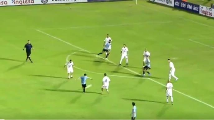 Nico Lodeiro marcó un golazo extraordinario