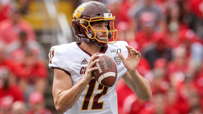 Central Michigan lost to Wisconsin, 61-0, in Week 2.