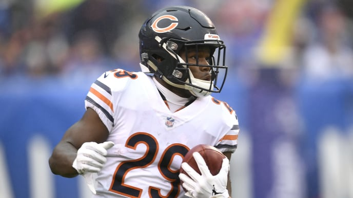 huge discount fcbfc 3cf38 Tarik Cohen Fantasy Value Improving as Draft Position Falls ...