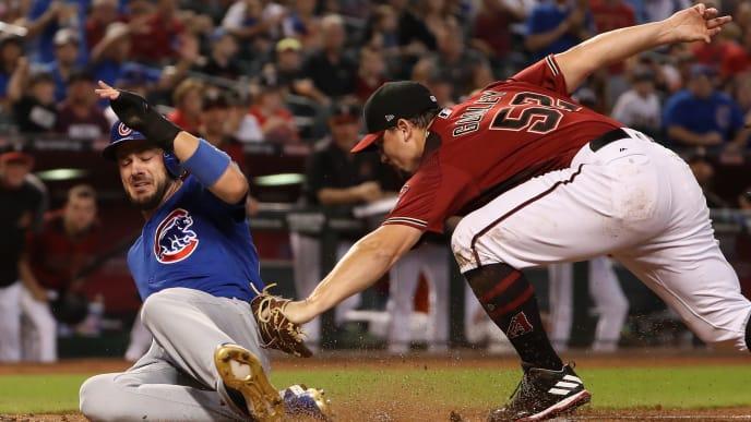 Chicago Cubs 3B Kris Bryant taking on the Arizona Diamondbacks