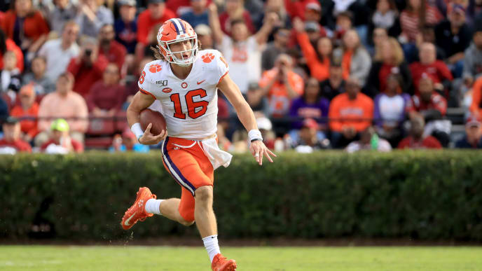 Trevor Lawrence and the Clemson Tigers have fully recovered from their near-loss against UNC.