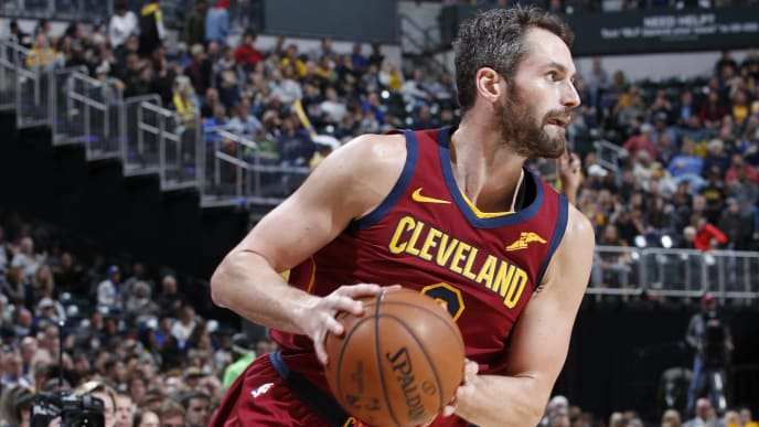 The Cleveland Cavaliers are reportedly listening to trade offers for Kevin Love.