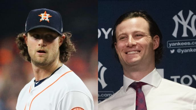 Gerrit Cole, before and after