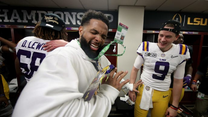 Odell Beckham Jr., Joe Burrow