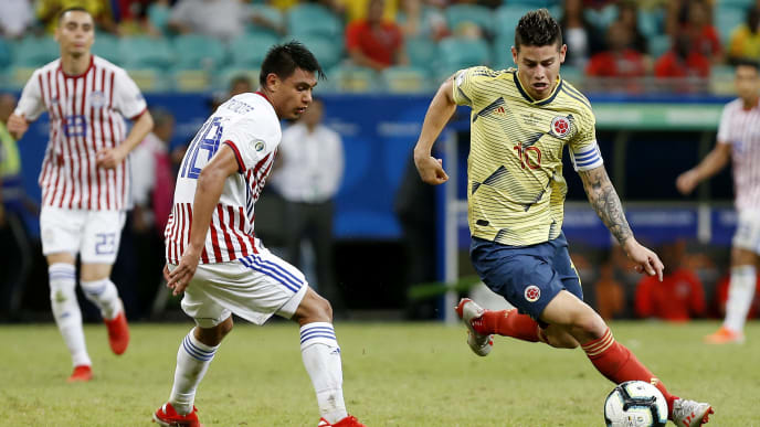Colombia vs Chile Copa America 2019 Match Betting Odds, Lines