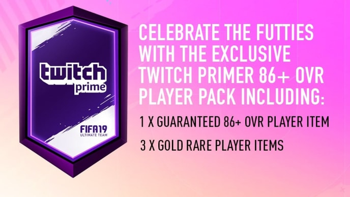 Twitch Prime FIFA 19 Pack Now Live for Users