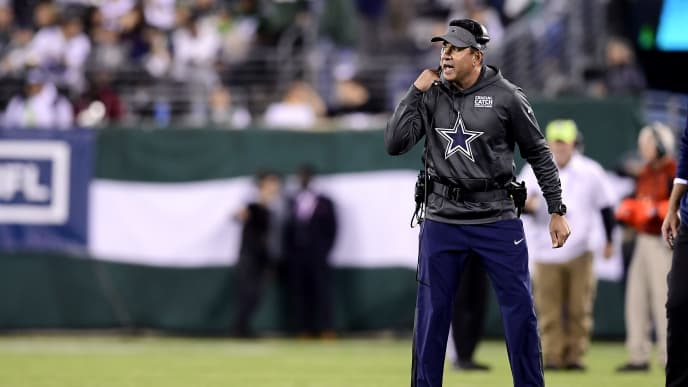 Dallas Cowboys WR coach Sanjay Lal was hired by the Seattle Seahawks