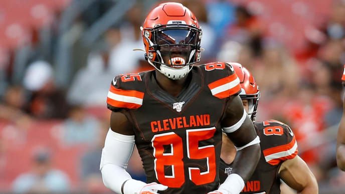 David Njoku hasn't played since Week 2 against the New York Jets.