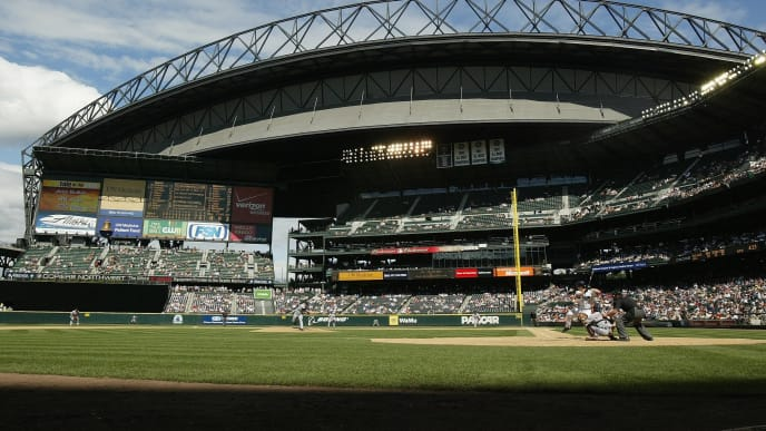 SEATTLE - JULY 15:  A general view of Safeco Field is shown during the Seattle Mariners game against the Detroit Tigers on July 15, 2007 at Safeco Field in Seattle, Washington. The Tigers won 11-7. (Photo by Otto Greule Jr/Getty Images)