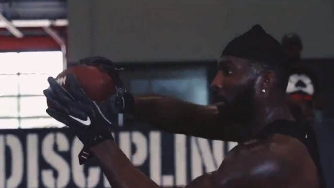 Video Dez Bryant Staying In Shape As He Aims For Mid