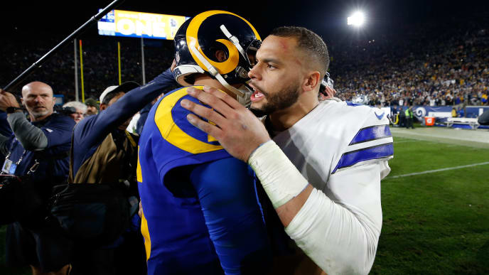 the best attitude 16a81 40147 Jared Goff's Contract Just Completely Screwed the Cowboys ...