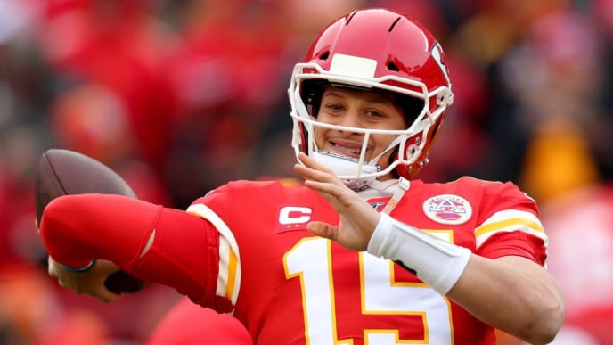 Kansas City Chiefs' quarterback Patrick Mahomes went absolutely berzerk vs. Houston