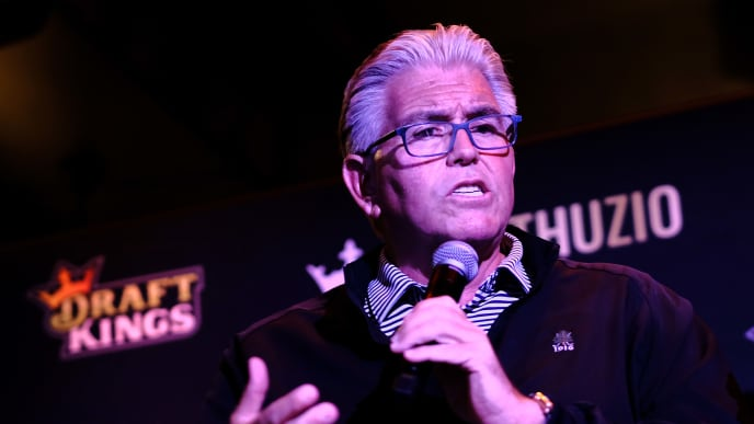HOBOKEN, NJ - SEPTEMBER 09:  Radio host Mike Francesa attends DraftKings Kickoff Bash 2018 at Pilsener Haus & Biergarten on September 9, 2018 in Hoboken City.  (Photo by Sean Zanni/Getty Images for DraftKings)