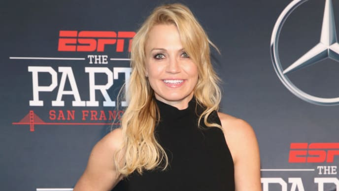 SAN FRANCISCO, CA - FEBRUARY 05:  ESPN Host Michelle Beadle attends ESPN The Party on February 5, 2016 in San Francisco, California.  (Photo by Robin Marchant/Getty Images for ESPN)