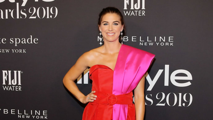 LOS ANGELES, CALIFORNIA - OCTOBER 21: Alex Morgan attends the Fifth Annual InStyle Awards with FIJI Water on October 21, 2019 in Los Angeles, California. (Photo by Charley Gallay/Getty Images for FIJI Water)