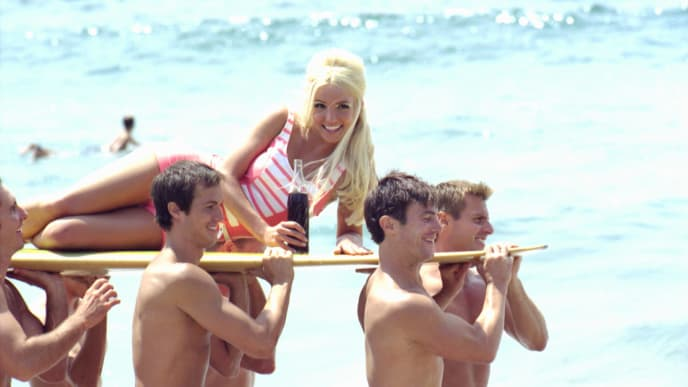 FILE PHOTO Britney Spears Commercial
