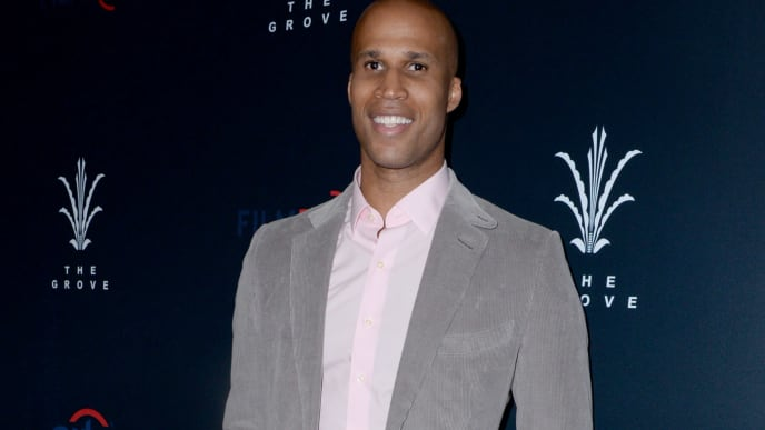 "LOS ANGELES, CA - APRIL 23:  Richard Jefferson attends FilmRise, Citi And The Grove Host Overbrook Entertainment's And Mental Telepathy Pictures' ""Sprinter"" Premiere at Pacific Theatres at The Grove on April 23, 2019 in Los Angeles, California.  (Photo by Vivien Killilea/Getty Images for FilmRise)"