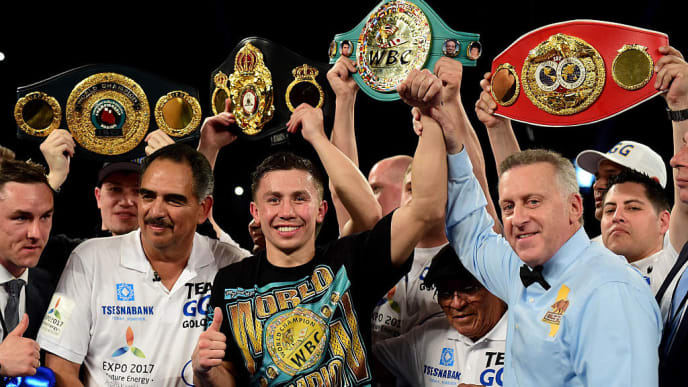 GGG was one of the best knockout artists (and colorful personalities) of the decade.