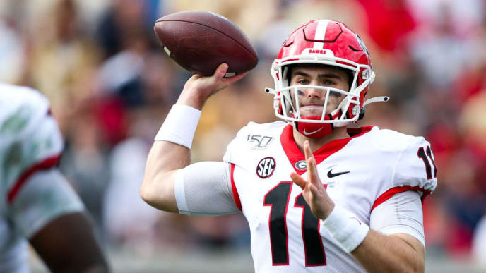 Jake Fromm will be one of the first names called in the 2020 NFL Draft.