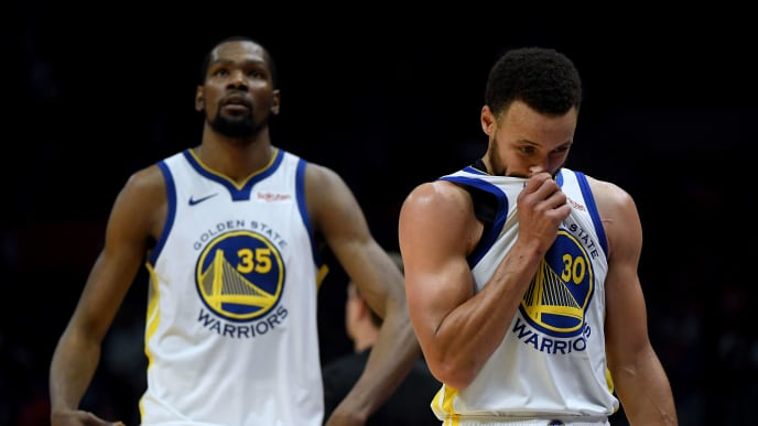 buy online 0bba2 3a518 Steph Curry Has Perfect Response to Kevin Durant's Criticism ...