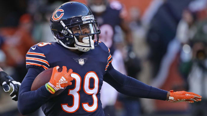 half off 788a8 6f951 Eddie Jackson Calls Out Bears Fans for Booing Team During ...