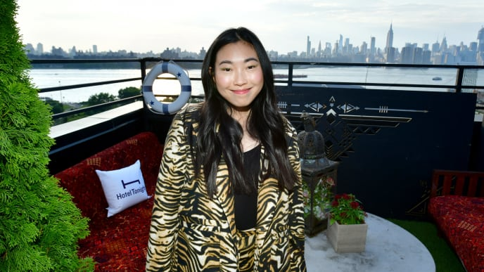 BROOKLYN, NEW YORK - JULY 28: Awkwafina hosts HotelTonight Party on the rooftop of The Williamsburg Hotel on July 28, 2019 in Brooklyn, New York. (Photo by Bryan Bedder/Getty Images for HotelTonight)