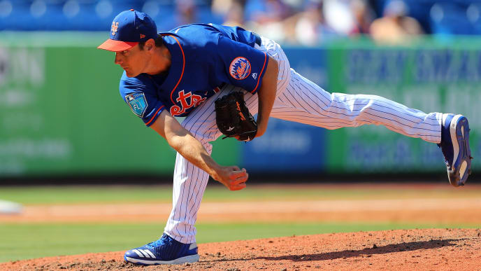 New York Mets pitcher Seth Lugo taking on the Houston Astros