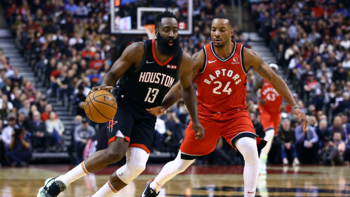 James Harden, Norman Powell