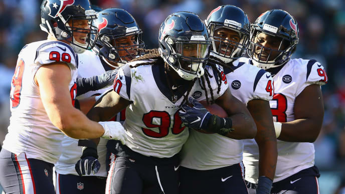 online store 330c7 70ac9 Texans Reportedly Shopping Jadeveon Clowney to 10 NFL Teams