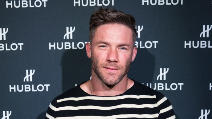 BOSTON, MA - JULY 18:  Hublot Collectors Dinner With Haute Living Cover Star Julian Edelman at Zuma on July 18, 2019 in Boston, Massachusetts.  (Photo by Scott Eisen/Getty Images for Haute Living  )